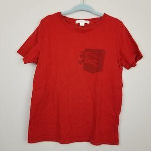 Burberry logo pocket short sleeve tee boys